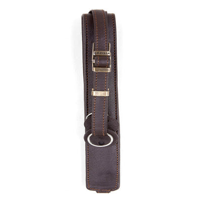 Cecilia 2.5cm Adjustable Leather Camera Strap (Brown), camera straps, Cecilia - Pictureline  - 2