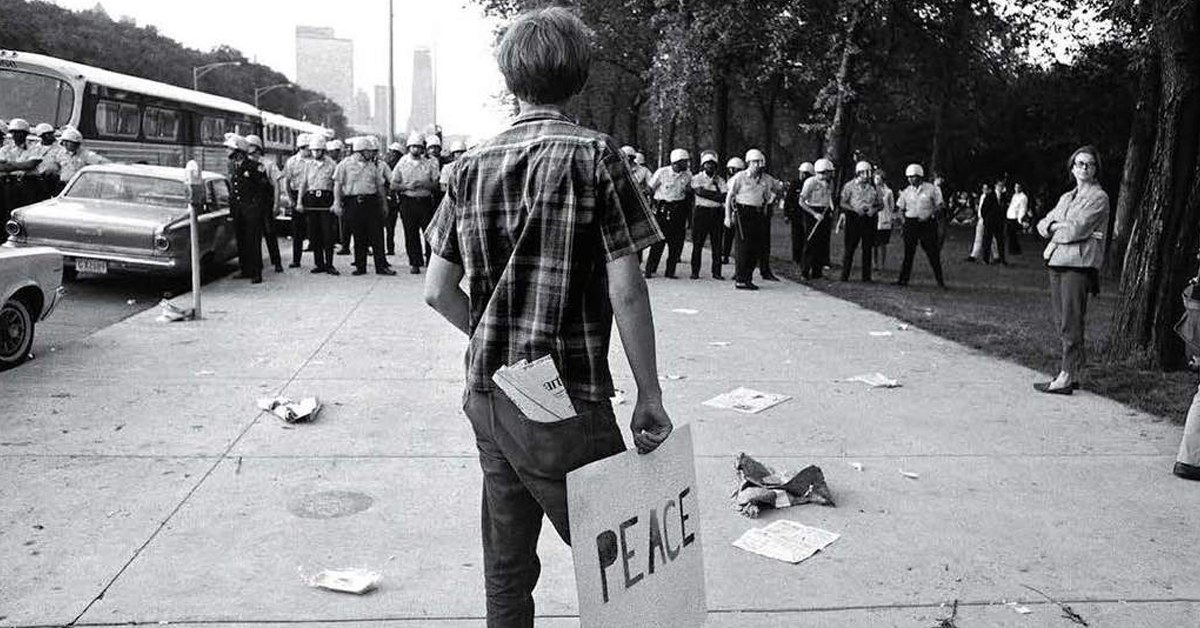 Chicago 1968: The Whole World is Watching-Photography by Michael Cooper (May 4-June 14)