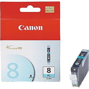Canon Ink CLI-8PC Photo Cyan, printers ink small format, Canon - Pictureline