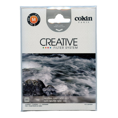 Cokin P Series Grey Netural Density ND2 Filter (1 stop)