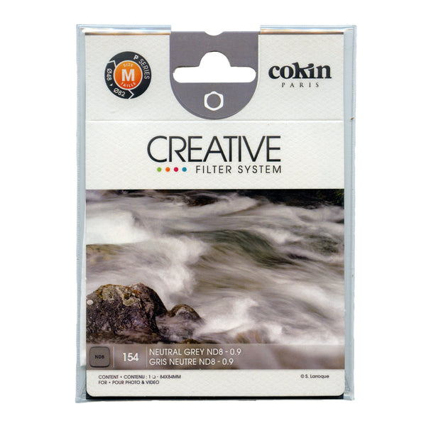 Cokin P Series Grey Neutral Density ND8 Filter (3 stops)