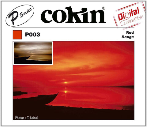 Cokin P Series Red Resin Filter, lenses optics & accessories, Cokin - Pictureline
