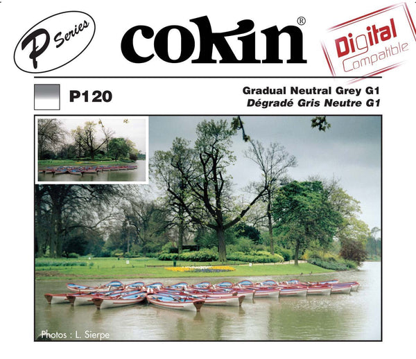Cokin P-Series Graduated Neutral Density Grey G1 Filter, lenses optics & accessories, Cokin - Pictureline