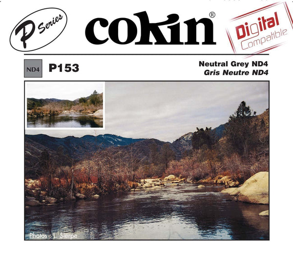 Cokin P Series Gray Neutral Density ND4 Filter, lenses optics & accessories, Cokin - Pictureline