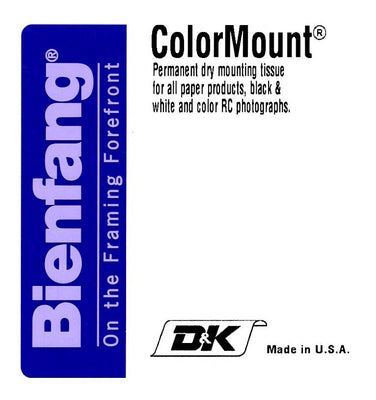 Bienfang Colormount Dry Mounting Tissue (8x10, 25 Sheets), papers mounting supplies, Bienfang - Pictureline