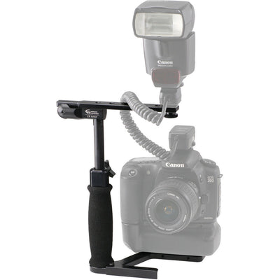 Custom Brackets CB Junior Flash Rotating Bracket Kit, lighting speedlite accessories, Custom Brackets - Pictureline  - 3
