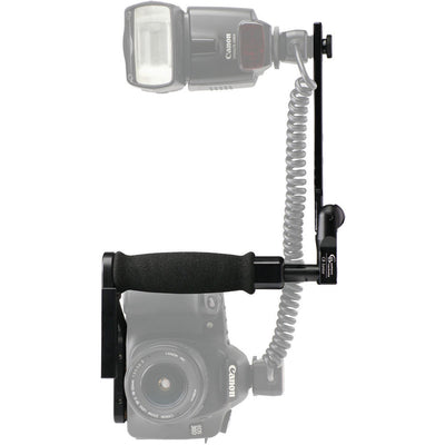 Custom Brackets CB Junior Flash Rotating Bracket Kit, lighting speedlite accessories, Custom Brackets - Pictureline  - 1