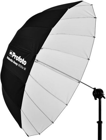 "Profoto Umbrella Deep White M (105cm/41""), lighting umbrellas, Profoto - Pictureline  - 1"
