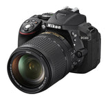 Nikon D5300 DX Digital SLR Camera w/ 18-140mm VR Lens Black, discontinued, Nikon - Pictureline  - 3