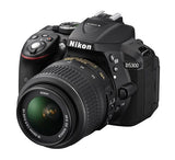 Nikon D5300 DX Digital SLR Camera w/ 18-55mm DX VR II Lens Black, discontinued, Nikon - Pictureline  - 4