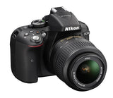 Nikon D5300 DX Digital SLR Camera w/ 18-55mm DX VR II Lens Black, discontinued, Nikon - Pictureline  - 3
