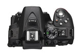 Nikon D5300 DX Digital SLR Camera w/ 18-140mm VR Lens Black, discontinued, Nikon - Pictureline  - 5