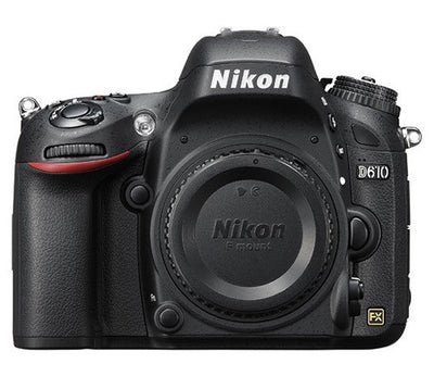 Nikon D610 Digital Camera Body, camera dslr cameras, Nikon - Pictureline  - 1