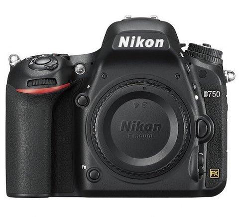 Nikon D750 Digital Camera Body, camera dslr cameras, Nikon - Pictureline  - 1