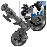 Delkin Fat Gecko Dual-Suction Camera Mount, tripods other heads, Delkin - Pictureline  - 2