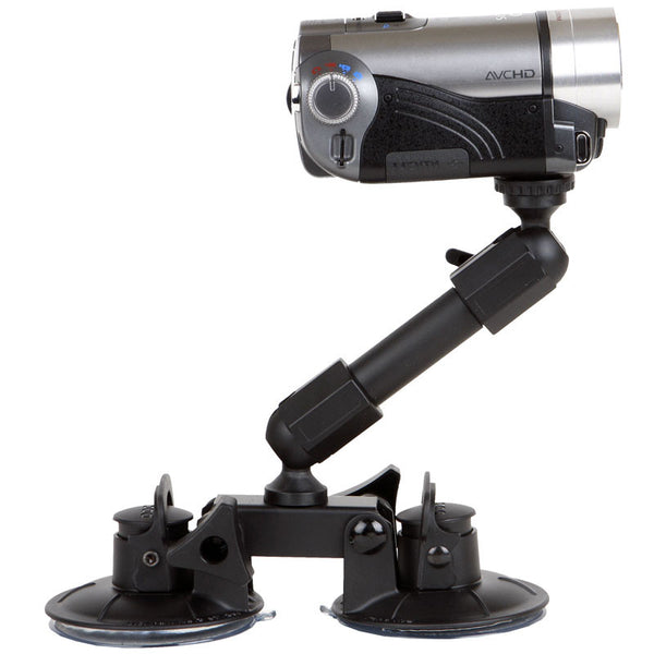 Delkin Fat Gecko Dual-Suction Camera Mount, tripods other heads, Delkin - Pictureline  - 1