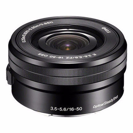 Sony E-Mount 16-50mm f/3.5-5.6 PZ OSS Lens