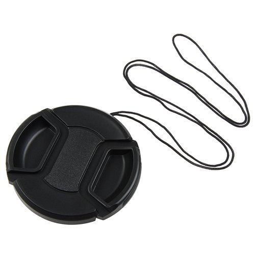 Dot Line 62mm Lens Cap w/ Leash, lenses lens caps, Dot Line - Pictureline  - 1