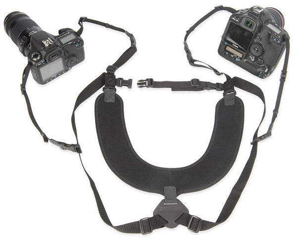 OP/TECH Dual Harness, X-Long, 3/8', Black, camera straps, OP/TECH - Pictureline  - 1