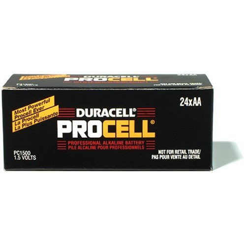 Duracell Procell AA Battery (24 Pack), camera batteries & chargers, Duracell - Pictureline