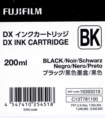 Fuji DX100 Ink Cartridge Black, printers ink small format, Fujifilm - Pictureline