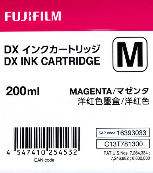 Fuji DX100 Ink Cartridge Magenta, printers ink small format, Fujifilm - Pictureline