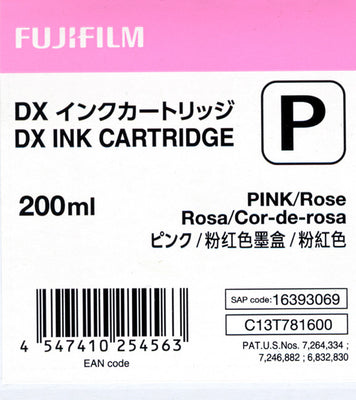 Fuji DX100 Ink Cartridge Pink, printers ink small format, Fujifilm - Pictureline