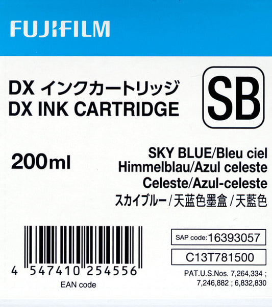 Fuji DX100 Ink Cartridge SkyBlue, printers ink small format, Fujifilm - Pictureline