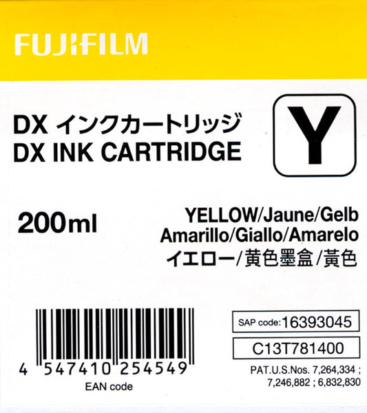 Fuji DX100 Ink Cartridge Yellow, printers ink small format, Fujifilm - Pictureline