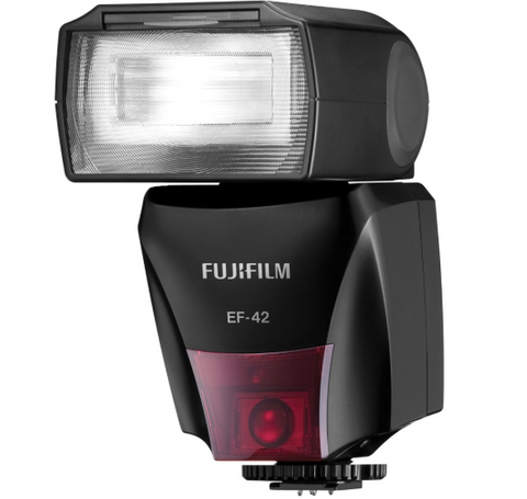 Fuji EF-42 Shoe Mount Flash, lighting hot shoe flashes, Fujifilm - Pictureline