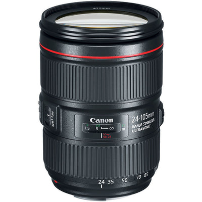 Canon EF 24-105mm f/4L IS II USM Lens, lenses slr lenses, Canon - Pictureline  - 1