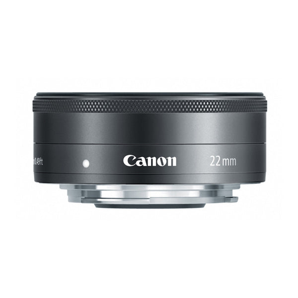 Canon EF-M 22mm f2 STM Lens (Black)