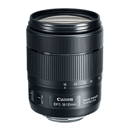 Canon EF-S 18-135mm f3.5-5.6 IS USM Lens, lenses slr lenses, Canon - Pictureline