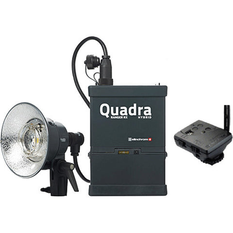 Elinchrom Quadra Living Light Kit w/Lead Battery, S Head & Transmitter, lighting studio flash, Elinchrom - Pictureline