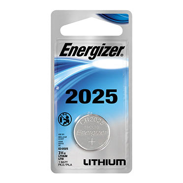 Energizer 3V CR2025 Single Coin Cell Battery