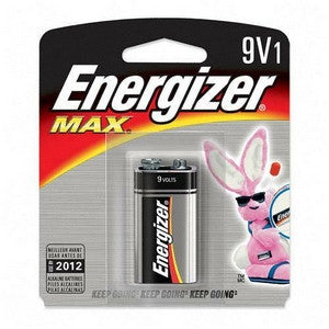 Energizer 9V Single Battery, camera batteries & chargers, Energizer - Pictureline