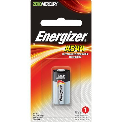 Energizer A544 6-Volt Photo Battery (1 Pack), camera batteries & chargers, Energizer - Pictureline