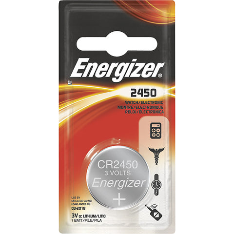 Energizer 2450 3V Lithium Coin Battery, camera batteries & chargers, Energizer - Pictureline