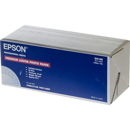 "Epson Premium Luster Photo Paper 8.3""x32.8' Roll, papers roll paper, Epson - Pictureline"
