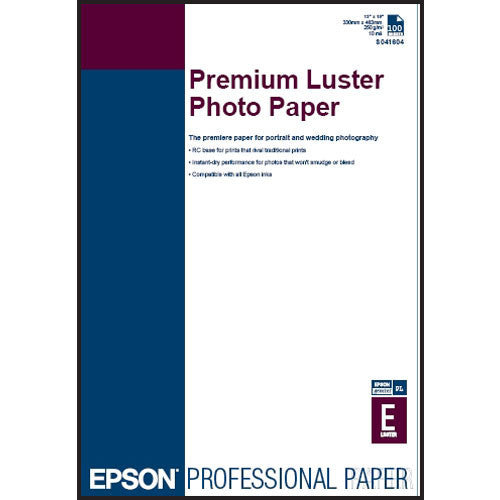 Epson Ultra Premium Photo Paper Luster 13x19 (100), papers sheet paper, Epson - Pictureline