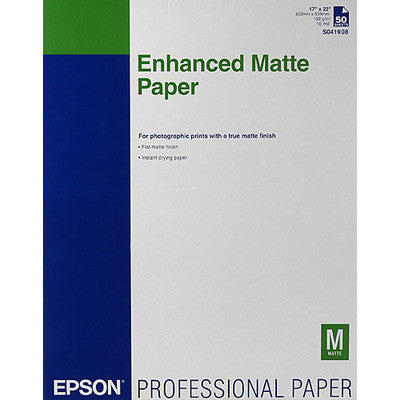 Epson Ultra Premium Presentation Matte Paper 17x22 (50), papers sheet paper, Epson - Pictureline