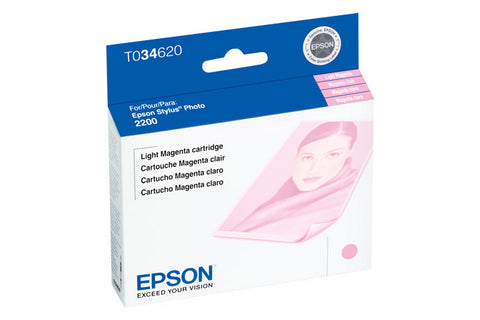 Epson T034620 2200 Light Magenta Ink, printers ink small format, Epson - Pictureline