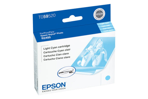 Epson T059520 R2400 Ink Light Cyan, printers ink small format, Epson - Pictureline