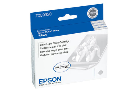 Epson T059920 R2400 Ink Light-Light Black, printers ink small format, Epson - Pictureline