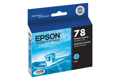 Epson T078220 Artisan 50 Ink Cyan (78), printers ink small format, Epson - Pictureline