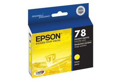 Epson T078420 Artisan 50 Ink Yellow (78), printers ink small format, Epson - Pictureline