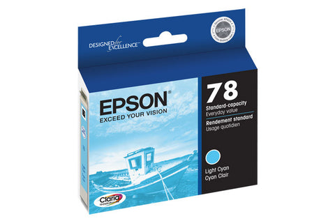 Epson T078520 Artisan 50 Ink Light Cyan (78), printers ink small format, Epson - Pictureline