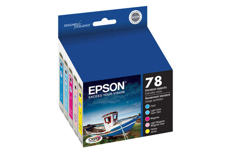 Epson T078920 Artisan 50 Ink Color Multipak (78), printers ink small format, Epson - Pictureline
