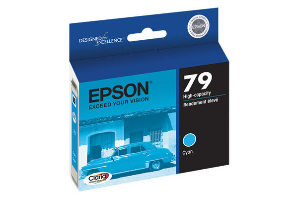 Epson T079220 Artisan 1400/1430 Cyan Ink (79), printers ink small format, Epson - Pictureline