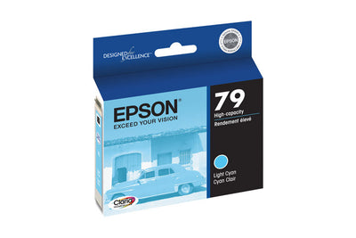Epson T079520 Artisan 1400/1430 Light Cyan Ink (79), printers ink small format, Epson - Pictureline